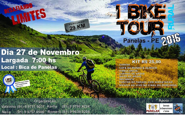 Bike Tour Rural Panelas-PE