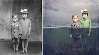 Imagen que inspiró el relato de fantasía El lago