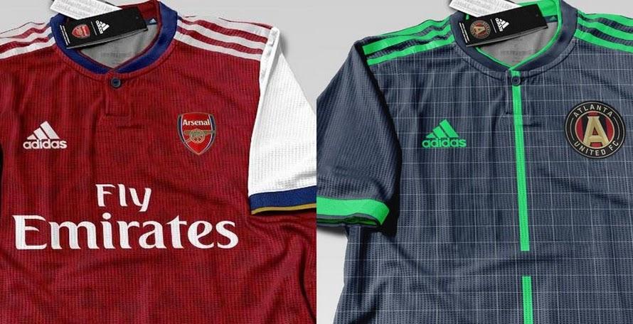 Update  100% Fake - Adidas Arsenal 19-20 Home Kit Leaked 6ef9b0c8f