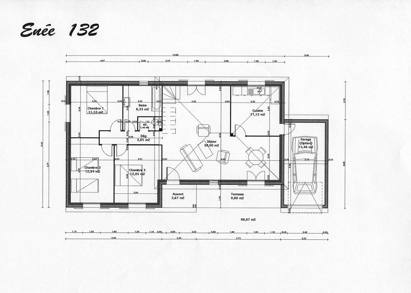 plan maison moderne gratuit tunisie. Black Bedroom Furniture Sets. Home Design Ideas