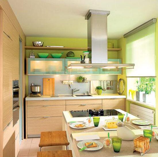 Tips Menghias Ruang Dapur Yang Sempit
