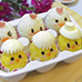 Easter Chicks Bento Rice Balls with surprise inside