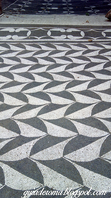 Decoração do piso das Termas de Caracalla