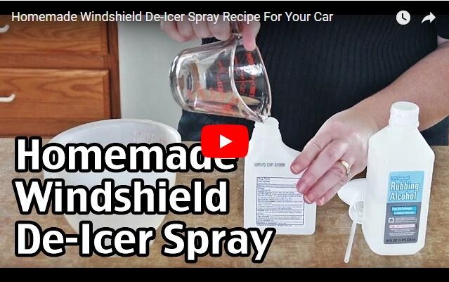 Ένα Κόλπο για να ξεπαγώσεις το παρμπρίζ του αυτοκινήτου σου μέσα σε λίγα δευτερόλεπτα
