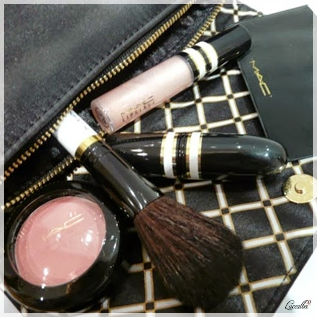 Stroke of Midnight Lip and Cheek Bag in pink