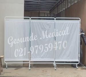 Bed Screen Pembatas Ruang Pasien