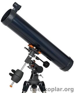 Celestron astromaster 76eq teleskop incelemesi