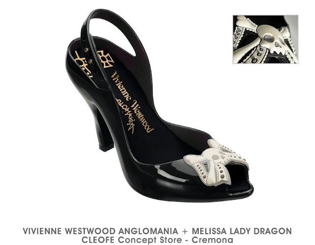 ACQUISTA ONLINE a questo LINK la nuova Collezione di Scarpe  MELISSA VIVIENNE  WESTWOOD - Modello Lady Dragon SFERA dfe72e65f7b
