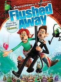 Flushed Away (2006) Hindi Dual Audio Full Movie Download 300mb HDTVRip 480p