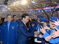 SBY Memberikan Sinyal Dukung Jokowi Pada Pilpres 2019