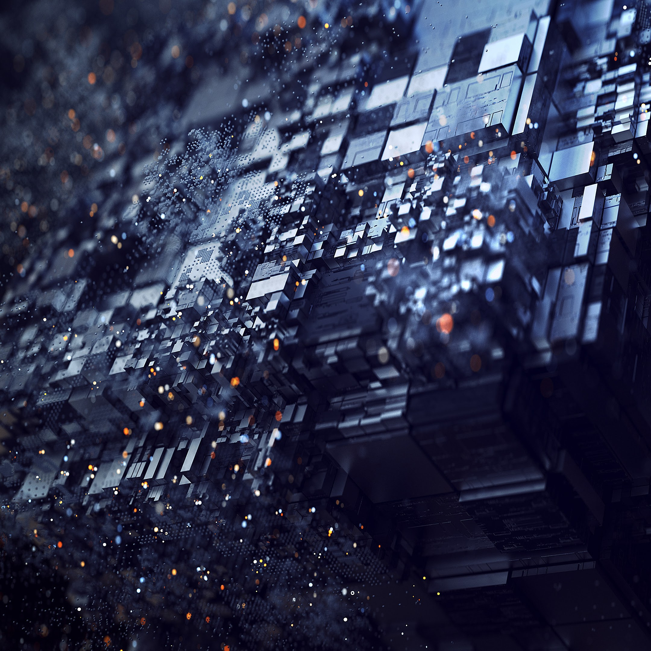 Abstract, 3D, Cube, Background, 4K, 3840x2160, #14 Wallpaper