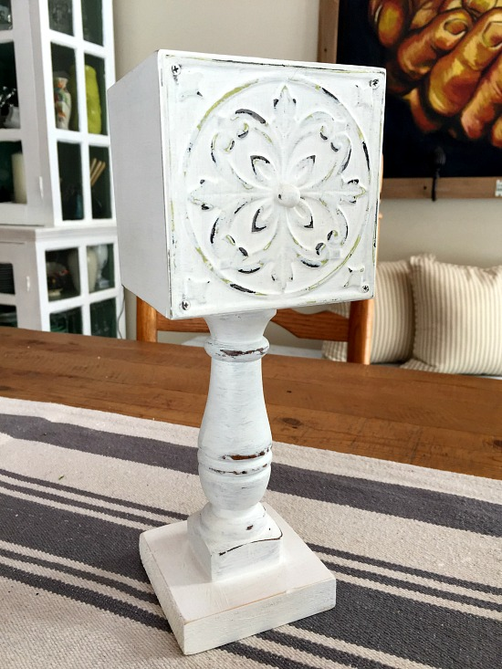 Repurposed Drawer farmhouse Pedestal Dish