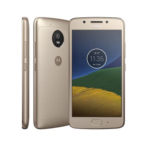 Smartphone Motorola Moto G5 XT1672 Ouro com Android 7.0, 4G, Câmera 13MP