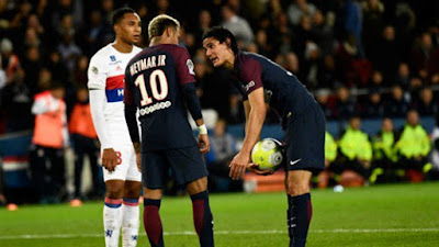 SPORT: Dressing room fight between Neymar, Cavani after Lyon game revealed