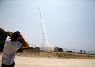Israel strikes Gaza militant sites, Palestinians fire rockets