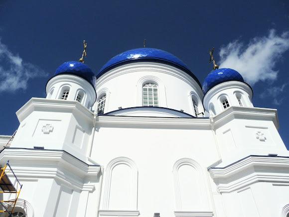 Житомир. Михайловская ул. Свято-Михайловская церковь. 1856 г.