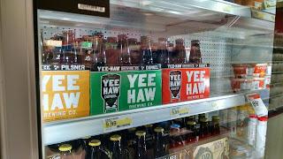 YEE HAW beer