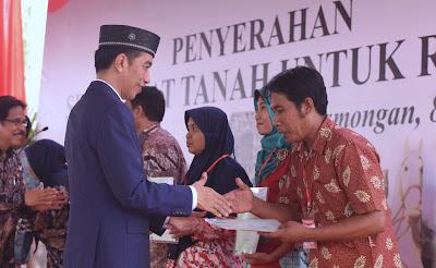 Presiden Jokowi: Tahun 2025, Seluruh Tanah di Indonesia Harus Sudah Disertifikasi - Info Presiden Jokowi Dan Pemerintah
