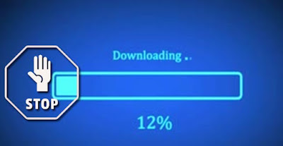 Stop downloading