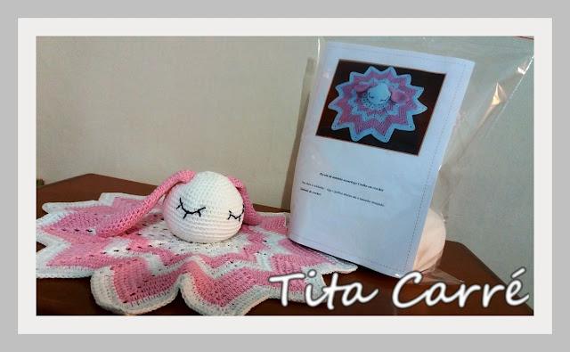 Kit para confecção da Coelha Aconchego