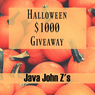 Enter the $1,000 Halloween Giveaway. Ends 10/31