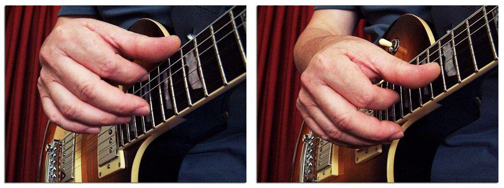 Armónicos con un Acorde Pulsado en Guitarra