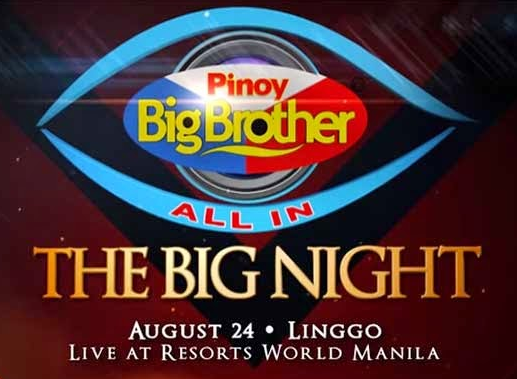 Pinoy Big Brother (PBB) All In The Big Night August 24, 2104 - Trend Setter News