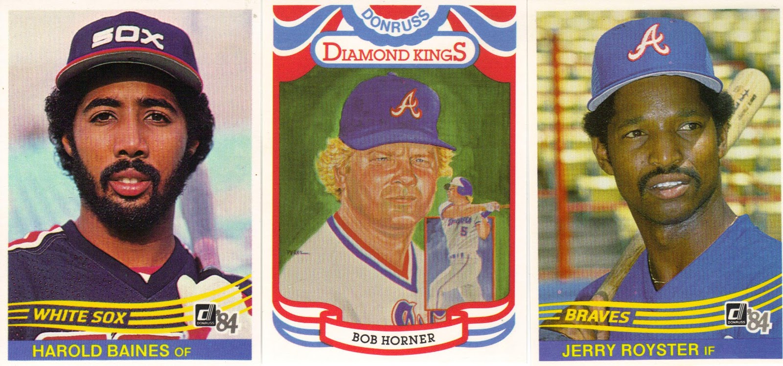 My Favorite Pulls Involved Three Of All Time Favorites Harold Baines Bob Horner And Jerry Royster Is A Great Hitter From His But Not Quite