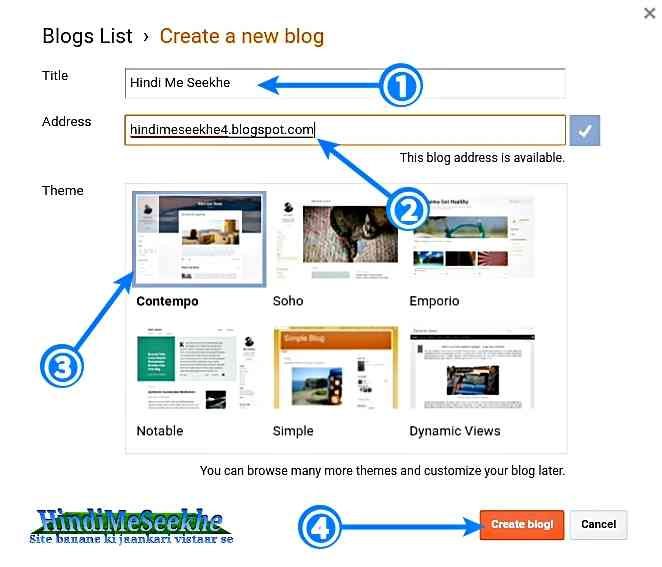 create-a-free-new-blog-website