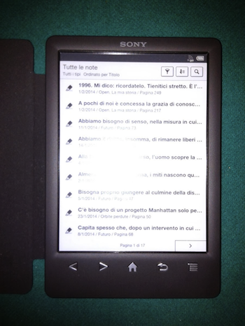 esportare-note-sony-reader-ebook