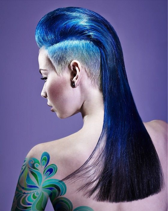 Wild And Artistic Hairstyles And Colors The Haircut Web