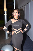 Pranitha Subhash in a skin tight backless brown gown at 64th Jio Filmfare Awards South ~  Exclusive 085.JPG