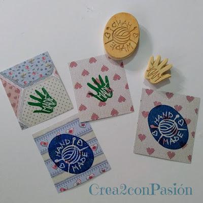 Sellos-carvados-goma-Handmade-inicios-Crea2conPasión