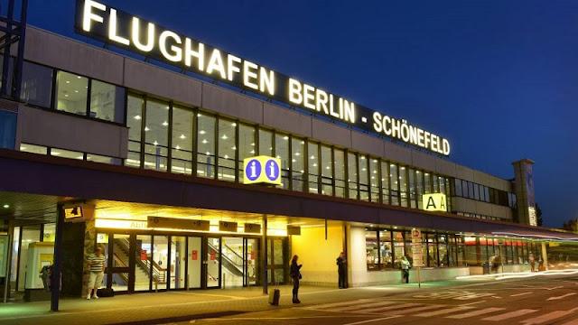 Do aeroporto de Schonefeld até o centro