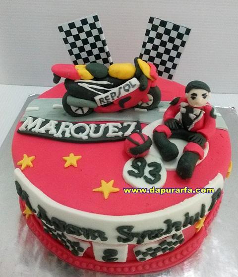 Dapur Arfa Racing Motor Cake