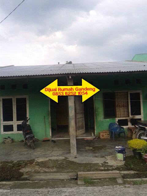 Dijual Cepat Rumah Gandeng Di Bawah Harga di Tembung, Medan
