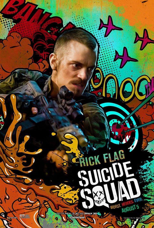 Nuevos posters individuales de SUICIDE SQUAD