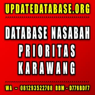Jual Database Nasabah Prioritas Karawang