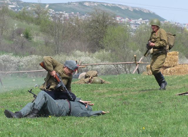 Реконструкция партизанского боя