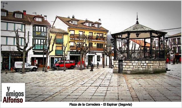 Plaza Corredera El Espinar