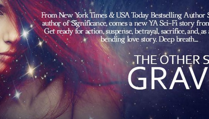Cover Reveal :THE OTHER SIDE OF GRAVITY