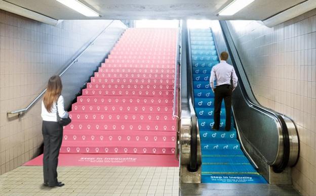 Anúncio explica a desigualdade de gênero no trabalho de forma simples e brilhante