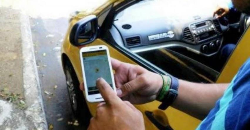 Congreso de la República aprobó Ley que regula el servicio de taxi por aplicativo