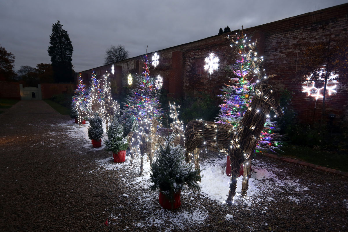 Christmas at Wynyard Hall - A guide to what's on in December including Festive Afternoon Tea and a Winter Wonderland Christmas Light Show in the gardens.