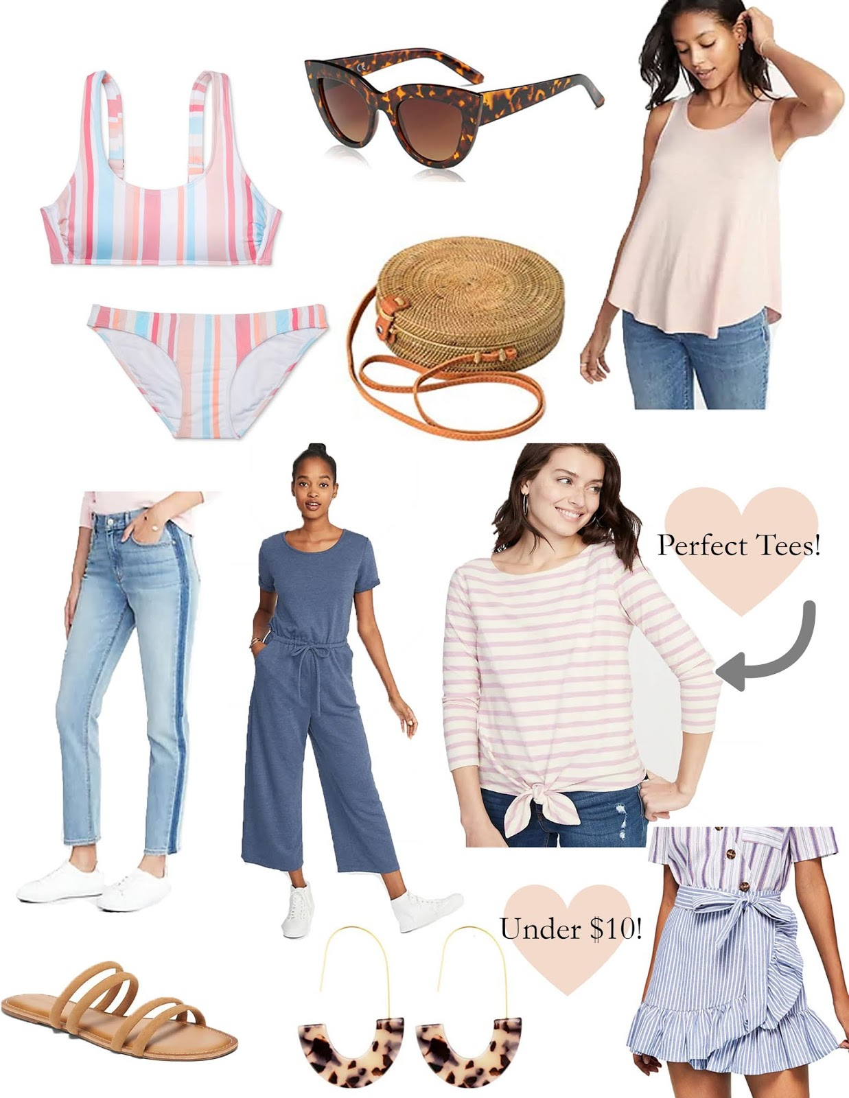 College Spring Break, Affordable Shopping List, Spring Break Fashion