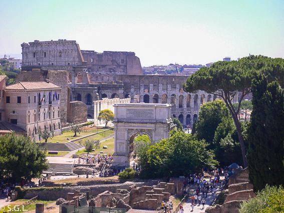 Coliseo de Roma. 5 días en Roma