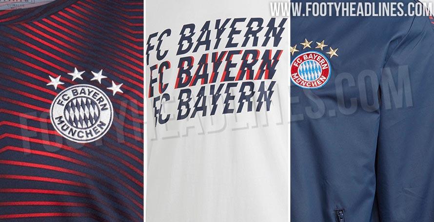 quality design 63c39 df530 Adidas Bayern Munich 2019 Training and Lifestyle Collection ...