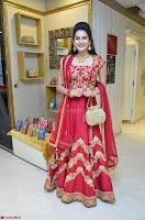 Jenny Honey in Stunning Dark Red Anarkali Dress at Splurge   Divalicious curtain raiser ~ Exclusive Celebrities Galleries 010.JPG