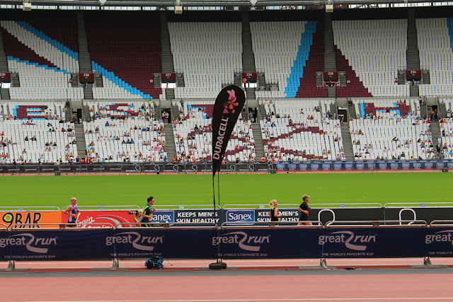 The Butterfly Balcony - Sewing, Stadiums & Steam - The Great Run Newham 2016 at the Olympic Stadium Stratford