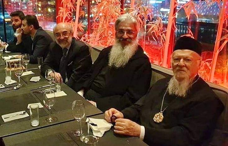Συνάντηση του Δημάρχου Αλεξανδρούπολης με τον Οικουμενικό Πατριάρχη κ. Βαρθολομαίο